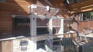 Беседка премиум класса со стеклянной крыше с авторскими элементами и печным барбекю комплексом Кухня барбекю мангал печь для приготовления в казане русская печь духовка