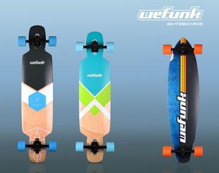 wefunk longboard lineup 2016