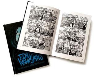"""""""Verhandlungssache"""" in ECHO DES WAHNINNS, Sphinx Spieleverlag, 2017  (Cover: André Breinbauer)"""