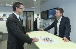 Streitgespräch zur Durchsetzungsinitiative mit Felix Howald (Industrie- und Handelskammer Zentralschweiz) Tele1