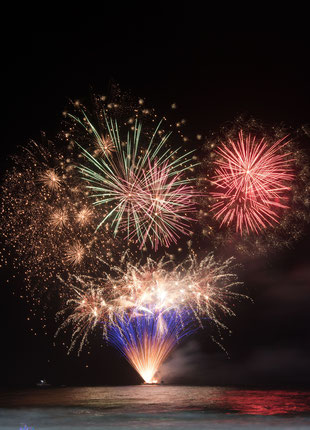 Feux d'artifices - Crédit Photo  : Pixabay