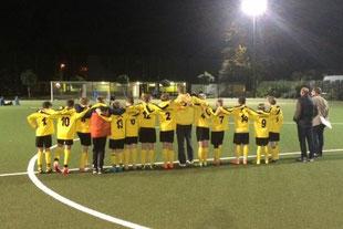 Elfmeterschießen: D1 im Kreispokal-Viertelfinalspiel. - Foto: s.v.g.