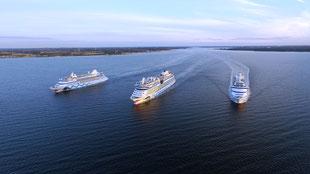 AIDA Schiffsparade // © AIDA Cruises