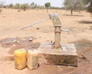 Brunnen in Djoaboani - ohne Umfassung