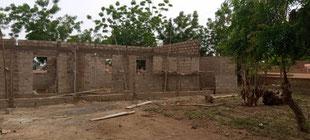 Piela-Bilanga - Vorschule der Protestantischen Kirche im Bau  - 31.07.2021