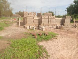 Bau des Verwaltungsgebäudes des CEG Tobou
