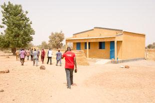 Das neue Wohngebäude für zwei Lehrerinnen/Lehrer