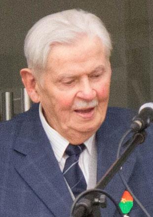 Erich Reck - Gründer und langjähriger Vorsitzender des Fördervereins