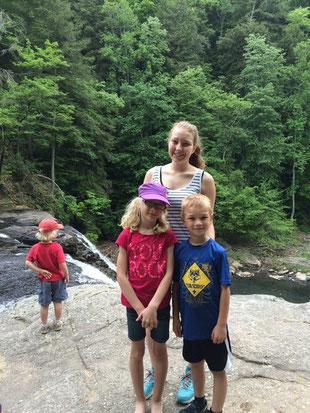 Campingtrip mit meiner Gastfamilie