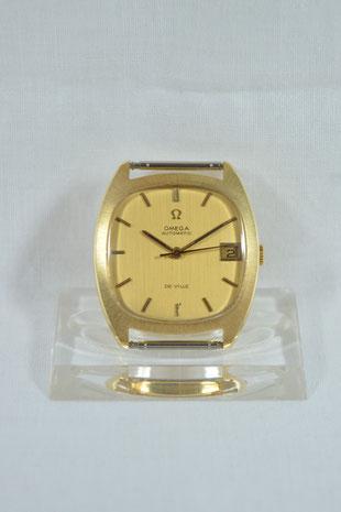 Omega De Ville 18ct Gold Herrenarmbanduhr 1970 Köln