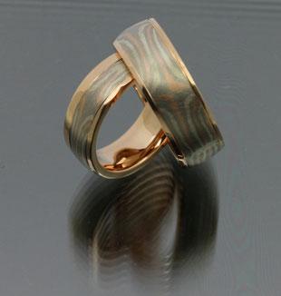 Ringe, Rotgold, Palladium, Silber