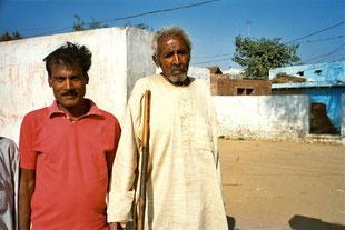 der blinde Vater und sein Sohn