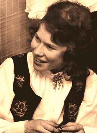 Sissel - ein schöne Norwegerin die perfekt deutsch sprach
