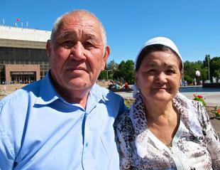 eine kirgisische Mamutschka