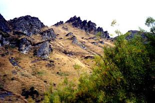 eine beeindruckende, geheimnisvolle Bergwelt
