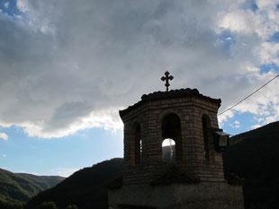 in der Klosterklause von Kokkinoplo beendeten wir den Tag