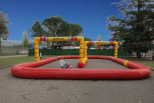 Pista Go Kart Gonfiabile, Gonfiabili Sportivi, Inflatable Go-Kart  Track