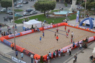 Delimitatore Gonfiabile Campo Beach Volley, Gonfiabili Sportivi, Gonfiabile Per Lo Sport, Beach Volley Inflatable Court