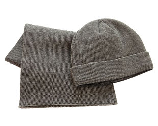 Schal Mütze Set,