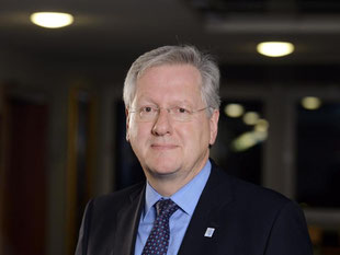 Chef der Rektorenkonferenz der Universitäten Schiewer. Foto: P. Seeger/Archiv