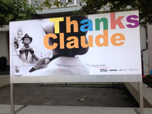 Монтре: Спасибо, Клод! Фото: Т.Каримов.