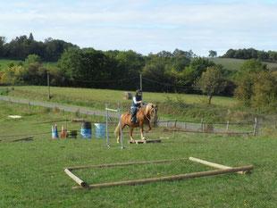 Trail western equitation ranch gers pouylebon cheval balade randonnée équestre club centre