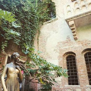 Verona Sehenswürdigkeiten Casa di Guilietta Romeo und Julia