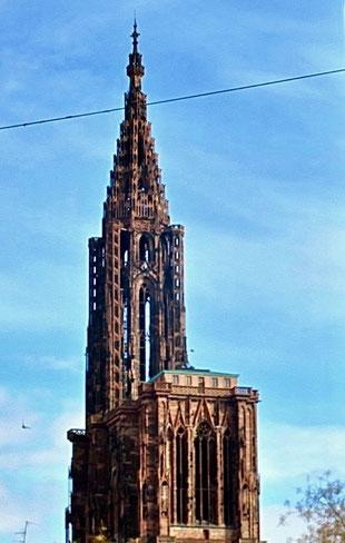 Wahrzeichen von Straßburg und dem europischen Parlament