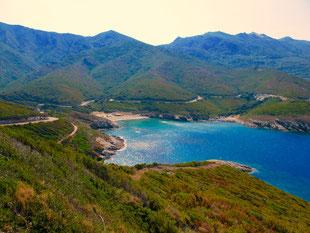 ein traumhaftes Küsten-Panorama