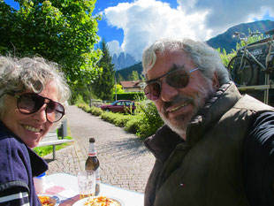 Hanni und Claus - ein letzter Blick auf die Geissler Spitzen