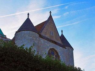 die gotische Kirche St. Serverin