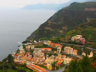 """Riomaggiore - einer der fünf Traum-Orte in der """"Cinque Terre"""""""