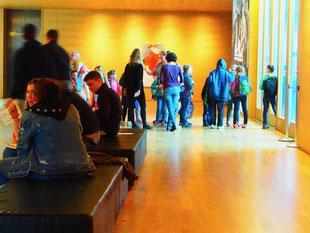 Eingangshalle des MdbK - Museum der bilden Kunst Leipzig