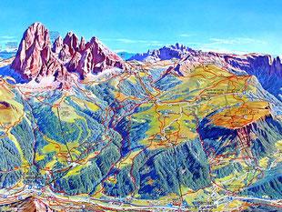 ein schier unbegrenztes Berg-Wandergebiet