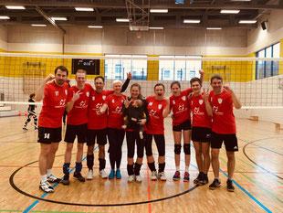 Erfolgreiches Mixed-Team GSBV Halle/S.