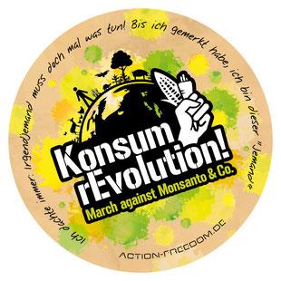Vielen Dank für die Nutzungserlaubnis des KonsumrEvolution-Logos von Action Freedom aus München.