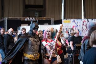 Starke Community: Cosplayer auf der Film- und Comic Con Karlsruhe
