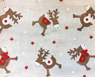 артикул Natale, скатерть к Новому году, новый год, рождество, новогодние ткани, ткани для праздника