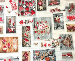артикул Lazos beige, скатерть к Новому году, новый год, рождество, новогодние ткани, ткани для праздника