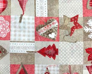 артикул Santa, новый год, рождество, новогодние ткани, ткани для праздника