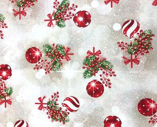 артикул Pinas, скатерть к Новому году, новый год, рождество, новогодние ткани, ткани для праздника