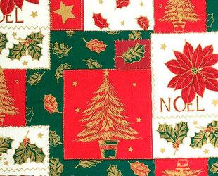 артикул Pino rojo, скатерть к Новому году, новый год, рождество, новогодние ткани, ткани для праздника
