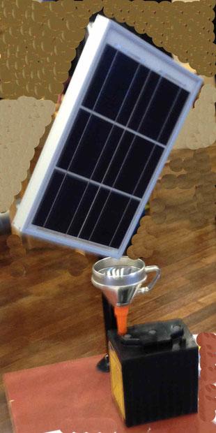 Stromspeicher Batterie Akku Solarmodule