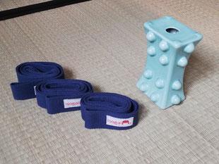 Das Werkzeug: ISOGAI® Ceramic Pillow und Bänder