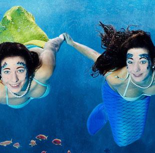 Meerjungfrauenschwimmen als Geschenkidee für 13 14 15 16 17 18 Geburtstag
