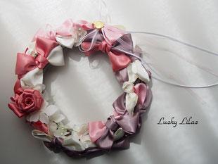 「Ribbon wreath」