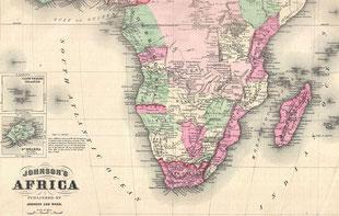 Afrika vor 150 Jahren