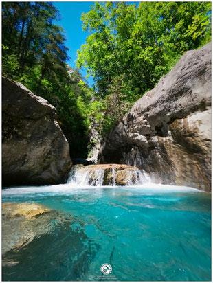 canyoning briançon serre chevalier canyon fournel