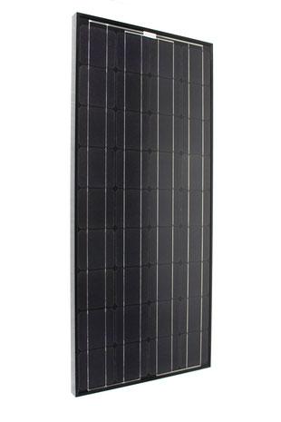 Solarmodul Solareinbau Black Line