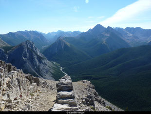Le Skyline Sulphur Trail